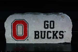 "Ohio State 8"" X 19"" Go Bucks"