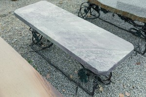 Ocean Surf Jade Bench