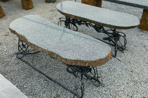 Woodland-Granite Bench