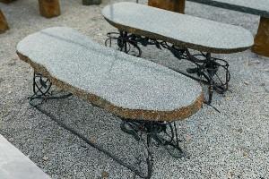 Woodland-Granite Bench