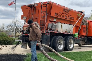 Mulch Blower